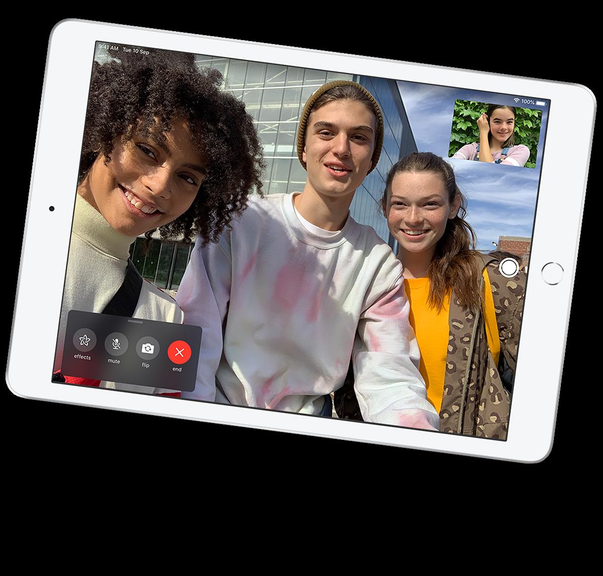 Built-in cameras - iPad